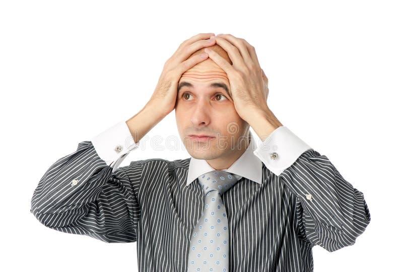 业务问题认为 免版税图库摄影