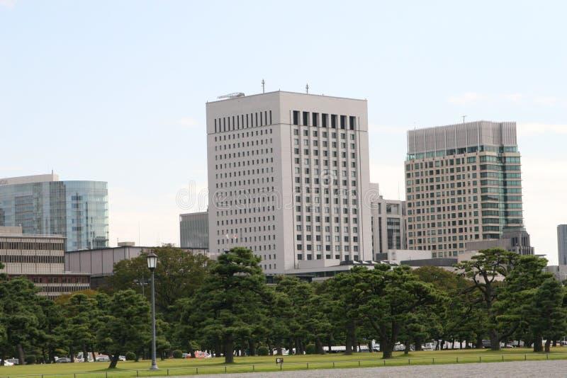 东京办公楼 库存图片