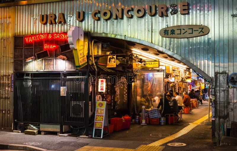 东京古雅的伊萨卡亚 库存图片