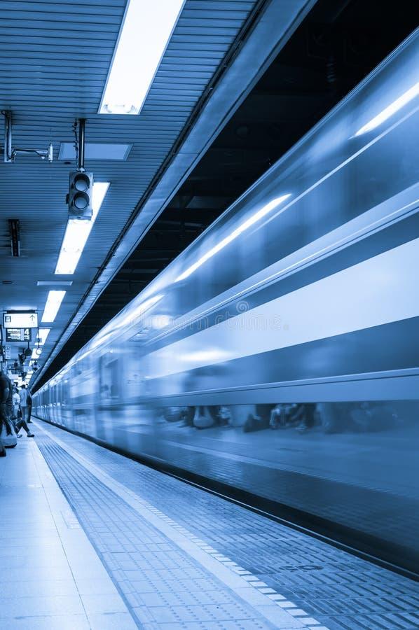 东京地下铁 免版税图库摄影