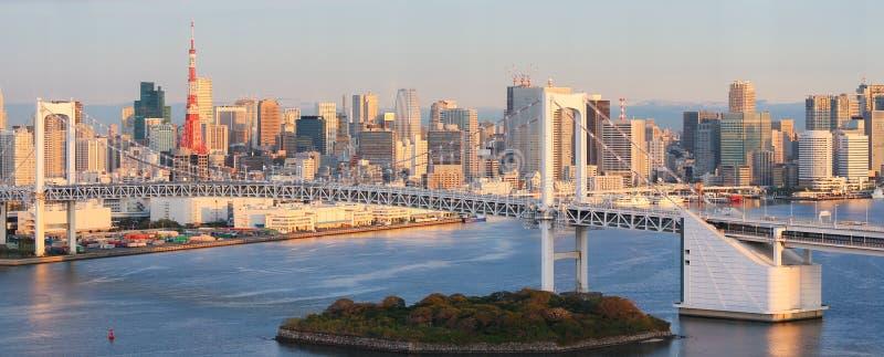 东京地平线 图库摄影