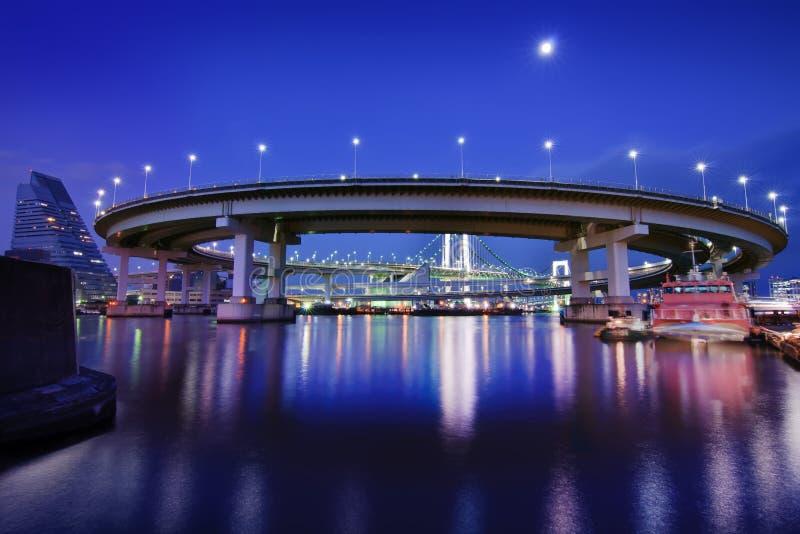 东京彩虹桥圈 图库摄影