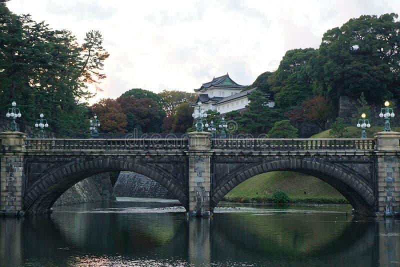 东京故宫城堡 免版税图库摄影