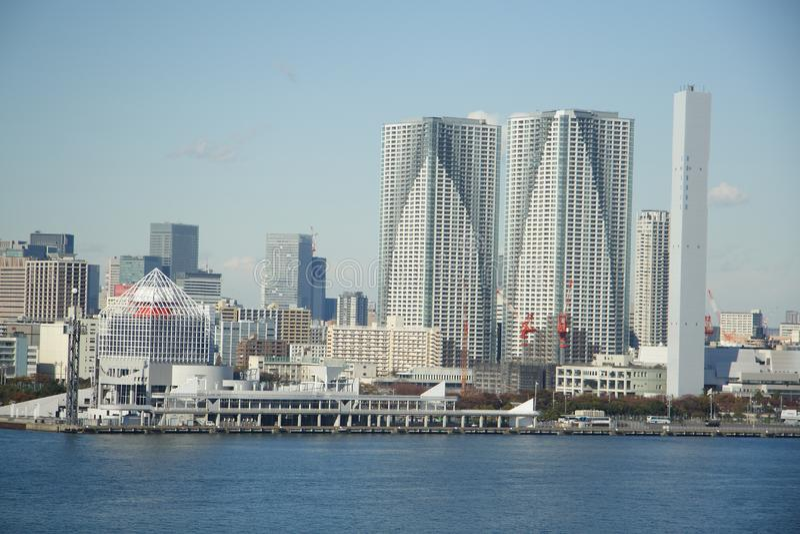 东京横向 免版税库存图片