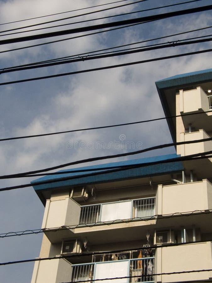 东京电汇 免版税库存图片