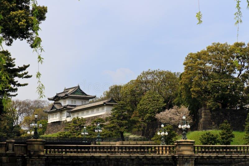 东京皇家宫殿  库存照片