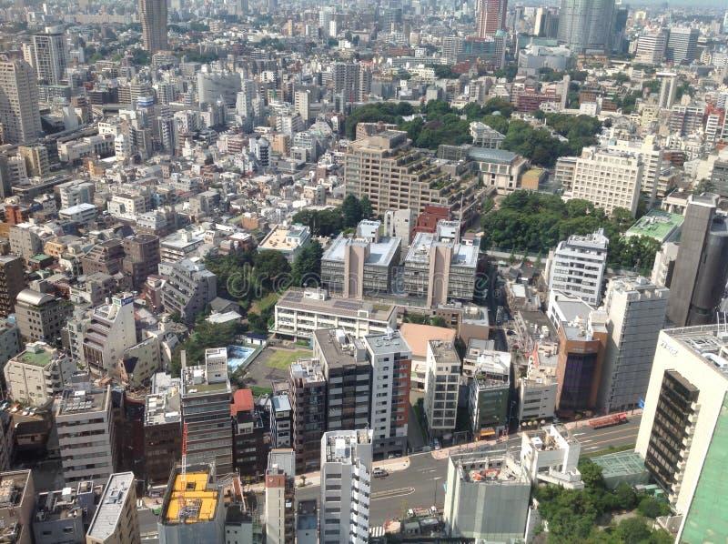 东京看法从观察台的 图库摄影