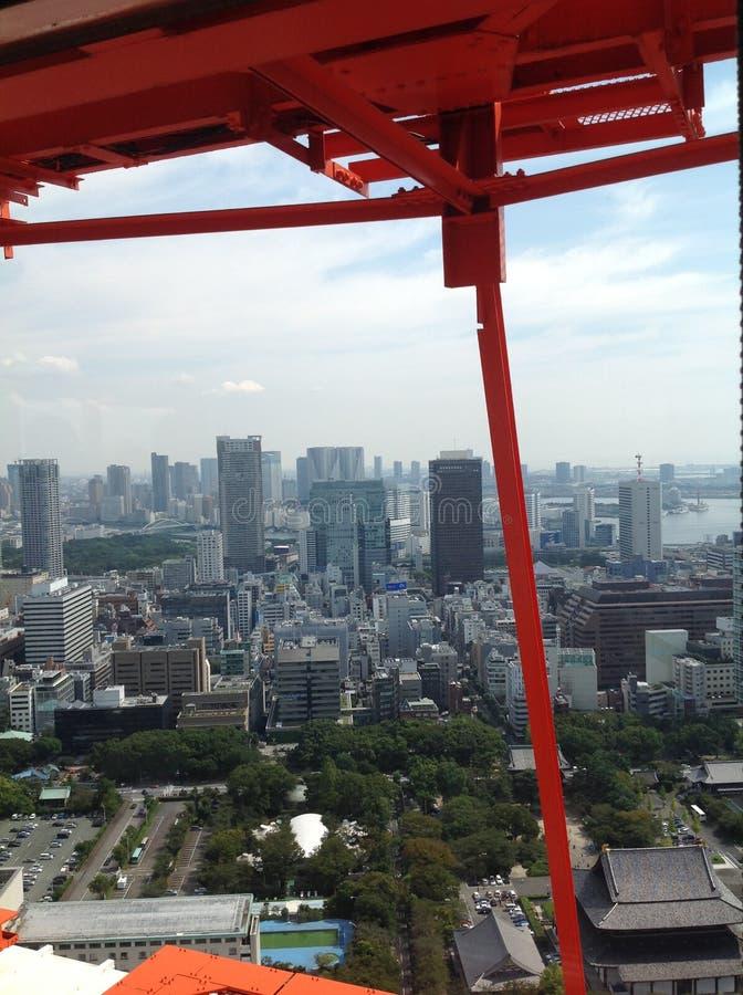 东京看法从观察台的 免版税库存图片
