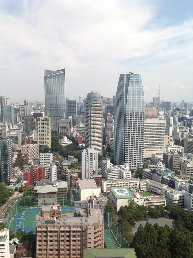 东京看法从观察台的 免版税图库摄影