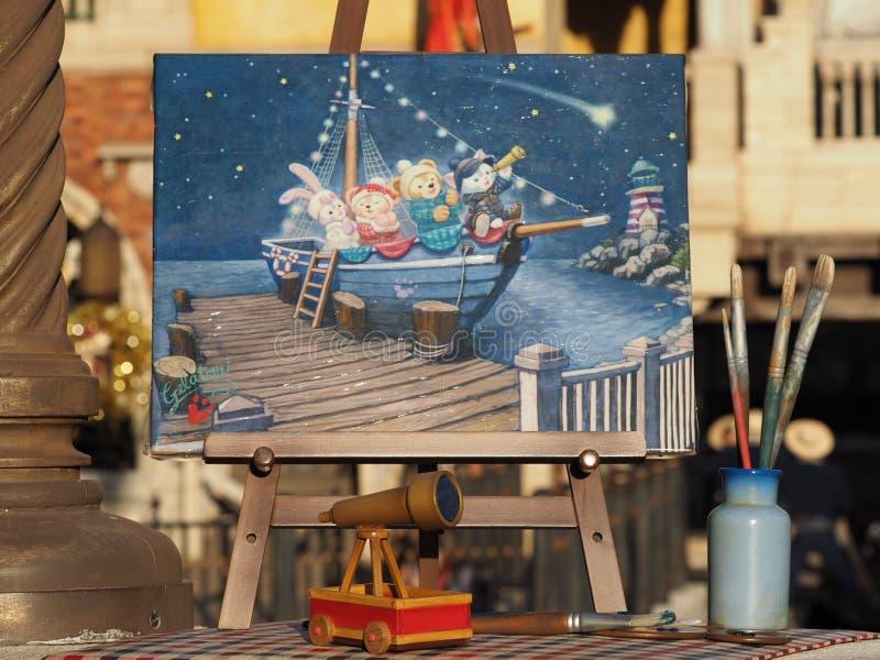 东京迪士尼海洋游乐园 免版税库存图片