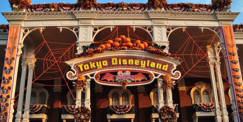 东京迪斯尼乐园城堡 图库摄影