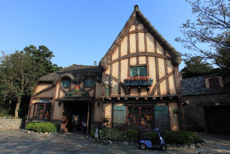东京迪斯尼乐园,日本 库存图片