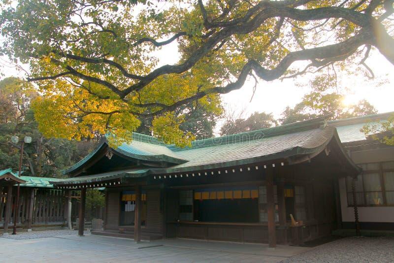 东京,日本美济礁寺庙  免版税库存图片