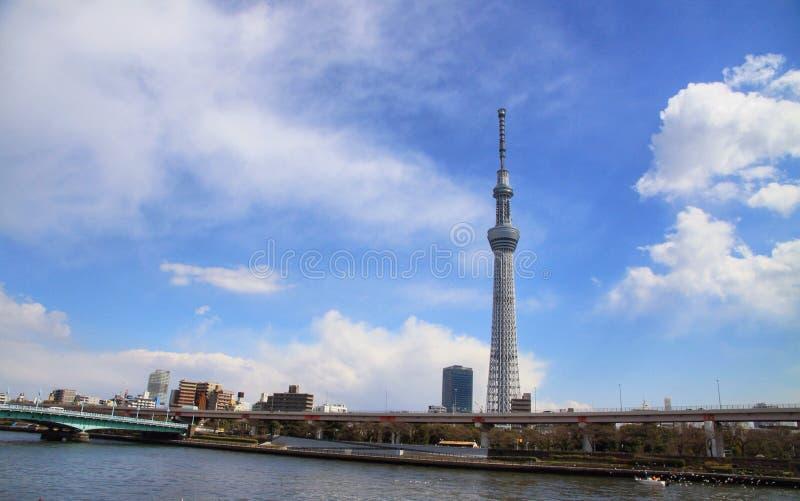 东京skytree看法  免版税库存照片