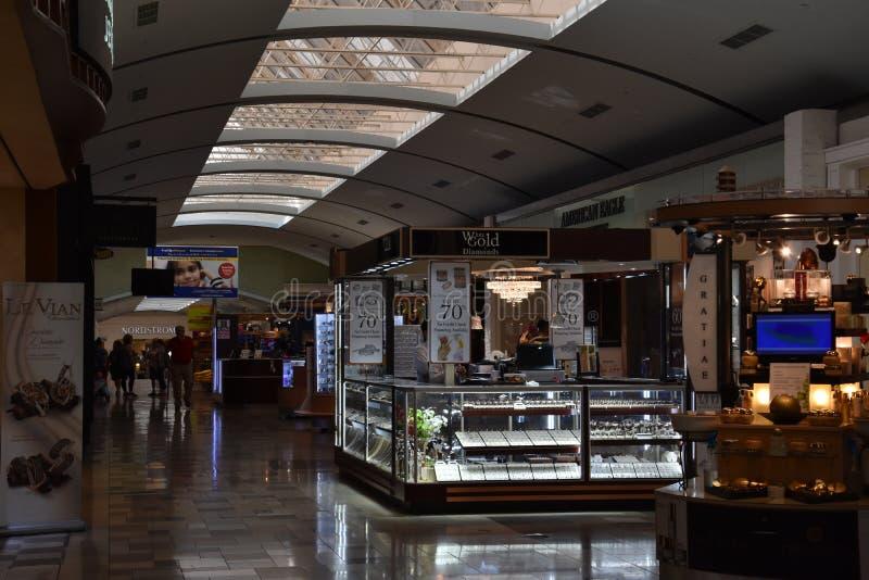 东北镇购物中心在Hurst,得克萨斯 免版税图库摄影