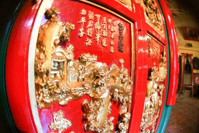 东华三院文武庙,好莱坞Rd, Tai砰单 库存图片