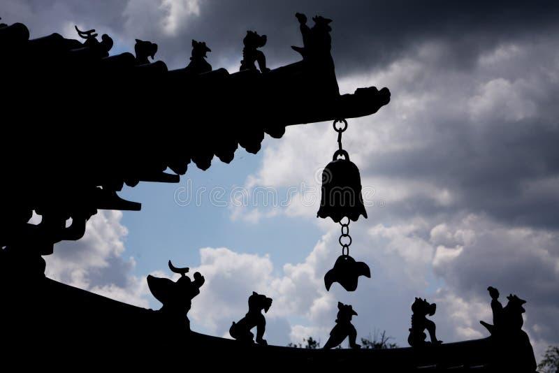 东方寺庙 免版税库存图片
