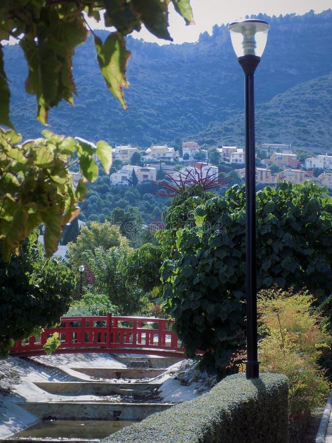 东方庭院Alhaurin de laTorre 库存照片