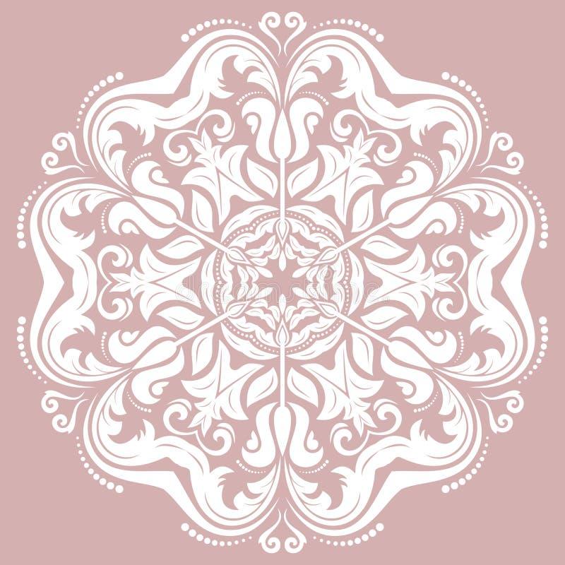 Download 东方抽象传染媒介样式 向量例证. 插画 包括有 单色, 蔓藤花纹, 抽象, 东方, 来回, 装饰, 回教 - 62534021