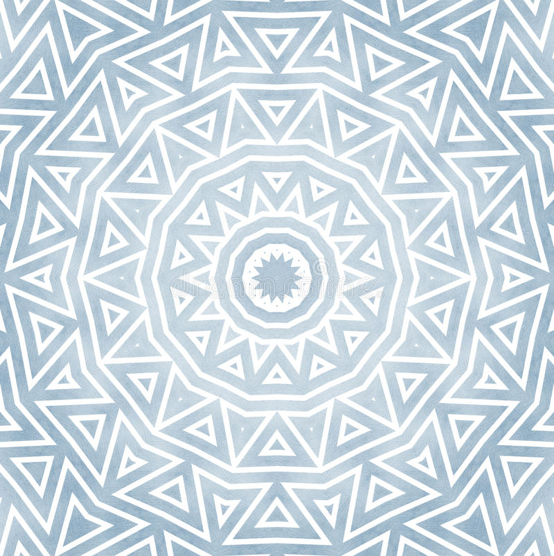 东方样式详细的圆的装饰品 库存例证