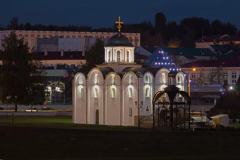 东正教在白俄罗斯 库存照片