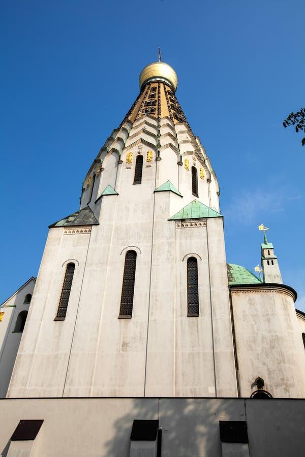 东正教在莱比锡 库存图片