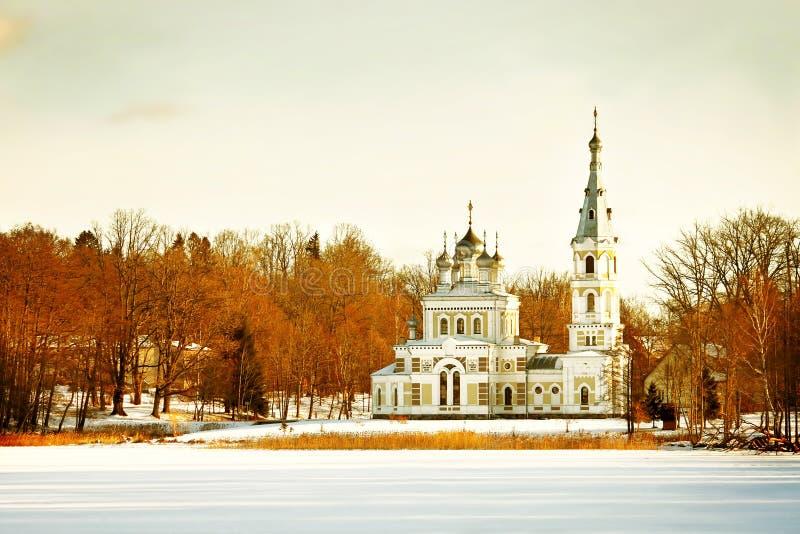 东正教教会 免版税库存照片