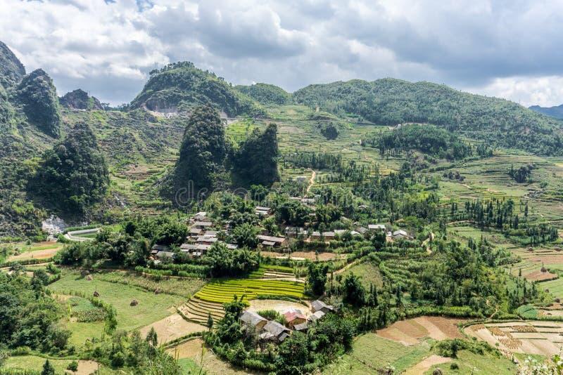 东范(河江市),越南 库存照片