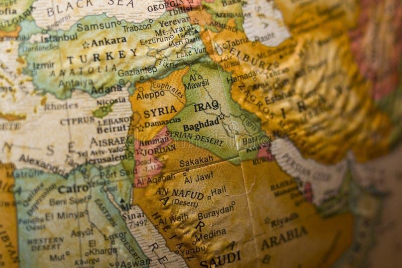 东部中间叙利亚 库存图片