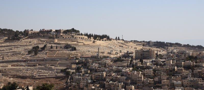 东部以色列jerusaleem 图库摄影