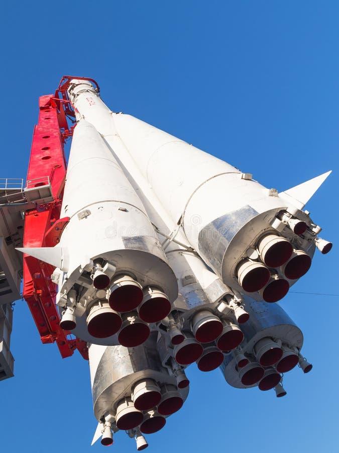 东部历史俄国的火箭 库存图片