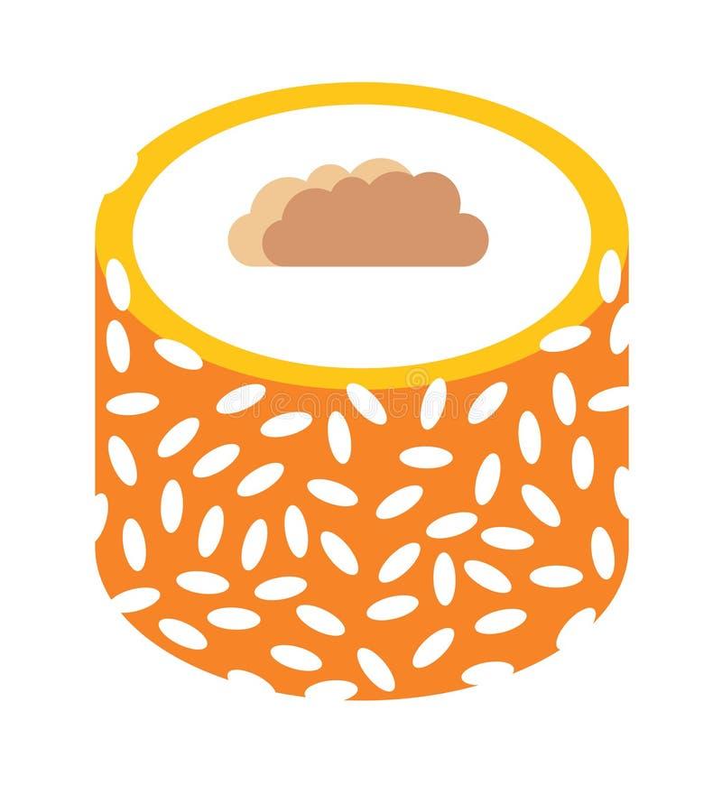 东部在白色背景传染媒介隔绝的甜点传统阿拉伯食物 皇族释放例证