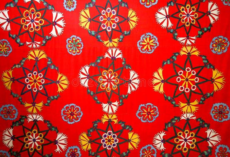 东部自然装饰品照片织品的 库存图片