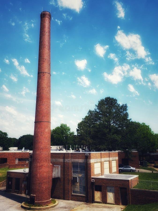 东部高中-孟菲斯,田纳西 免版税库存照片