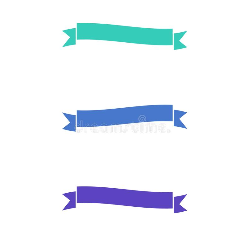 丝带 向量例证