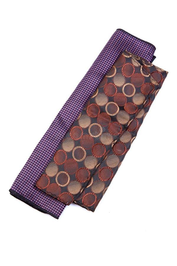 丝绸手帕 免版税库存图片