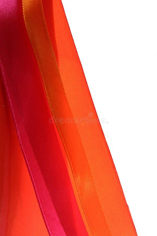 丝绸的丝带 库存图片