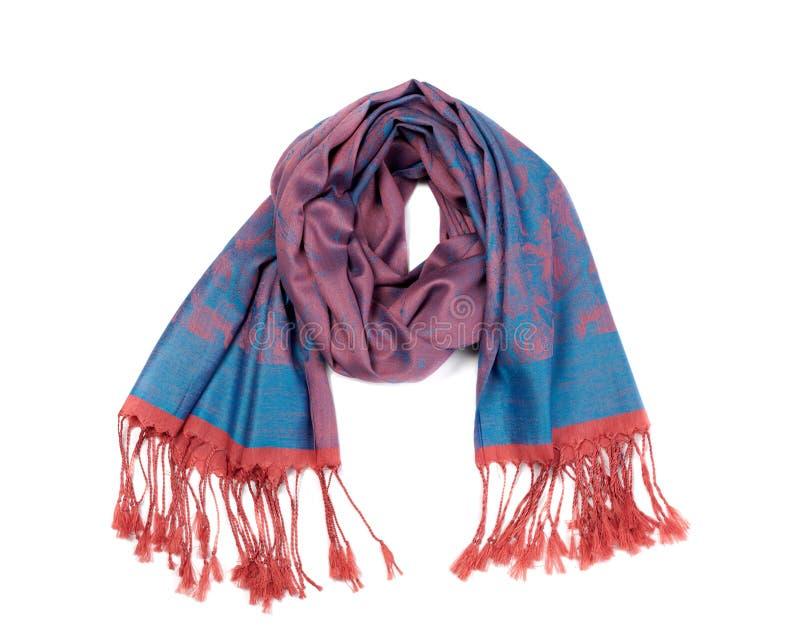 丝绸围巾 库存图片
