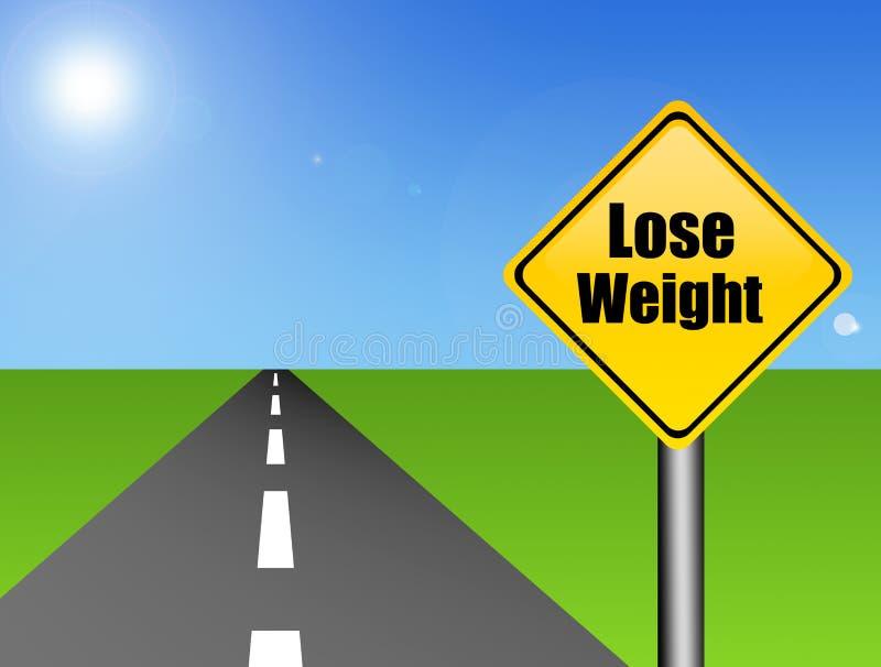 丢失信号重量 向量例证