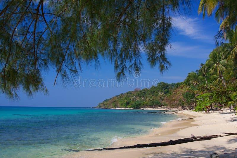 丢失的海滩 免版税图库摄影