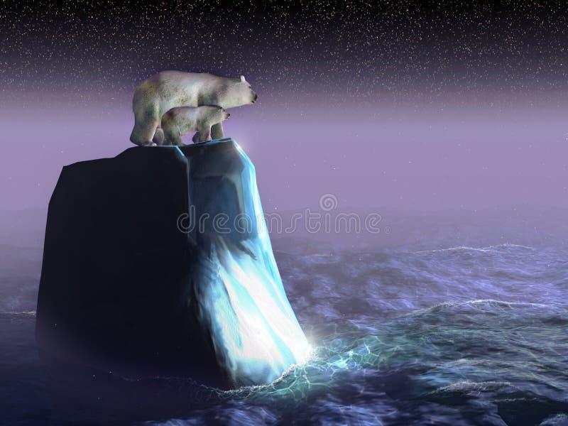 丢失的熊 免版税库存照片