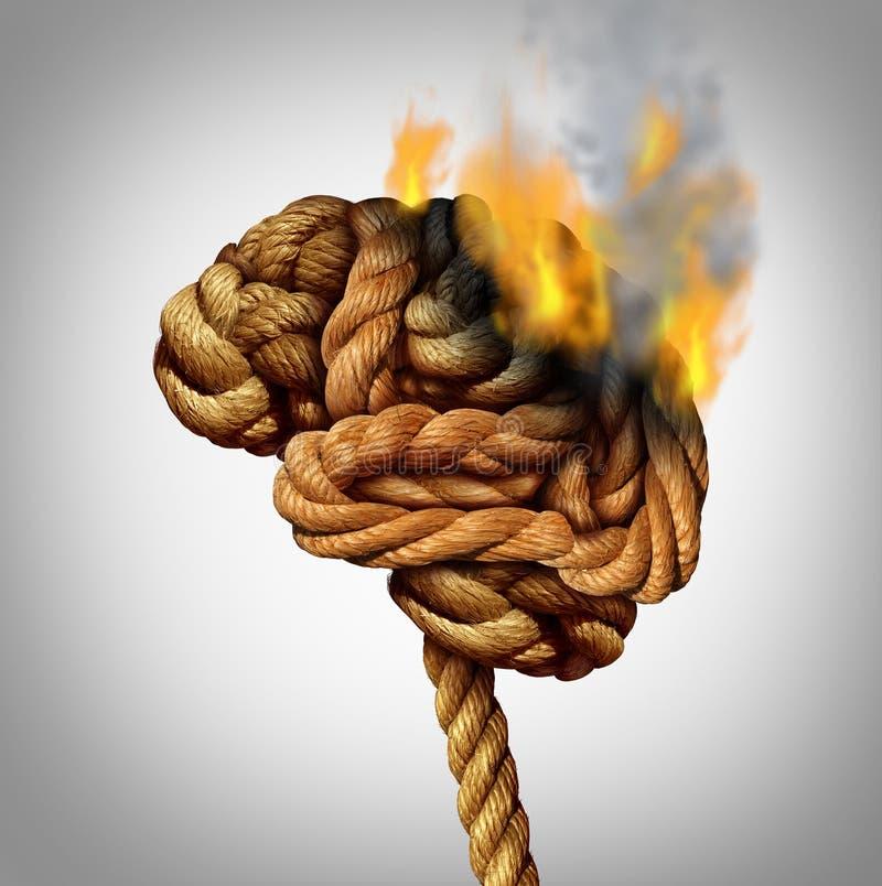丢失的脑子作用 皇族释放例证