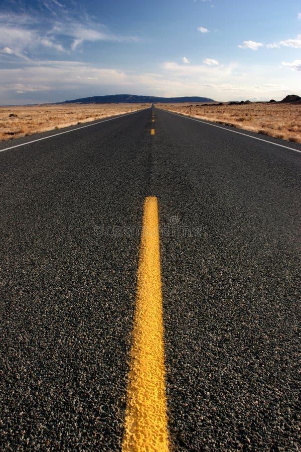 丢失的高速公路 库存图片