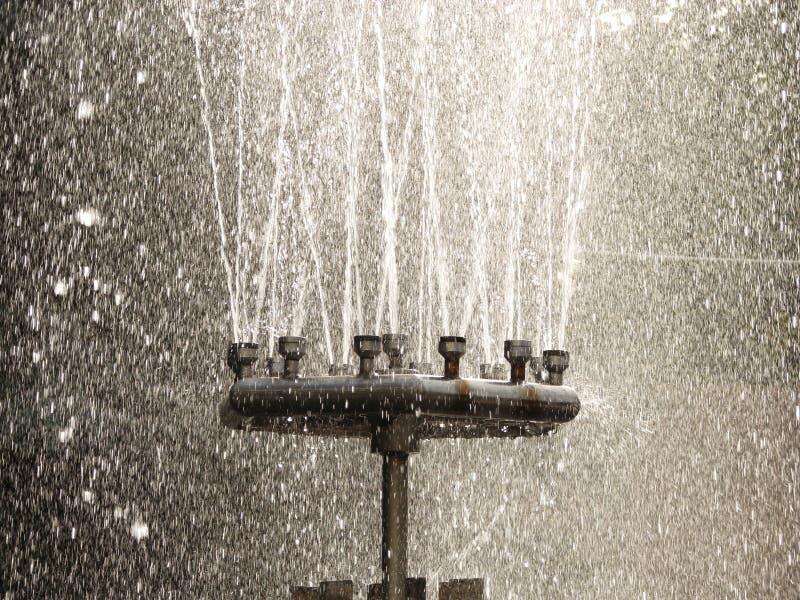 丢弃喷泉水 免版税图库摄影