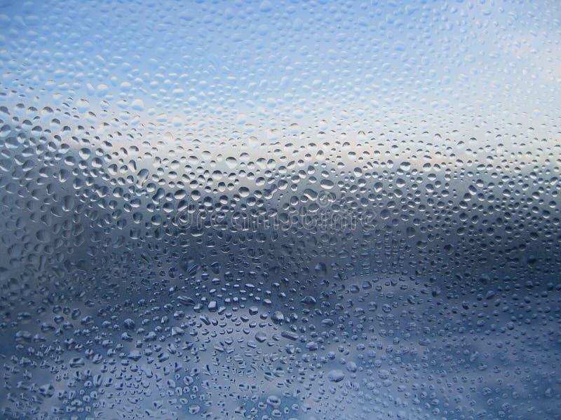 丢弃玻璃水 库存照片