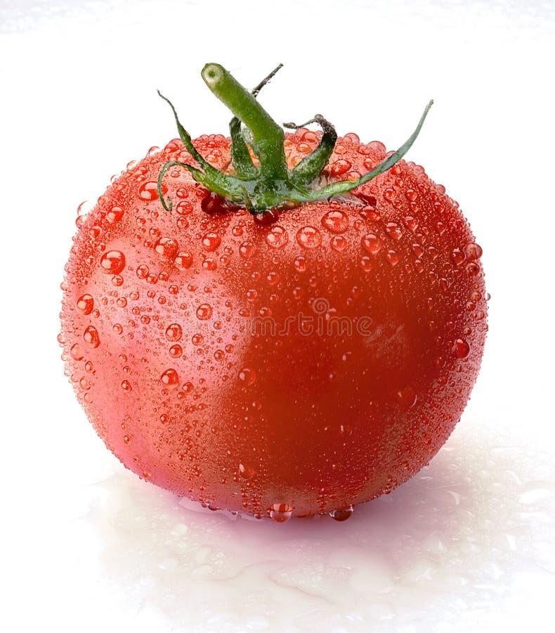 丢弃蕃茄水 图库摄影