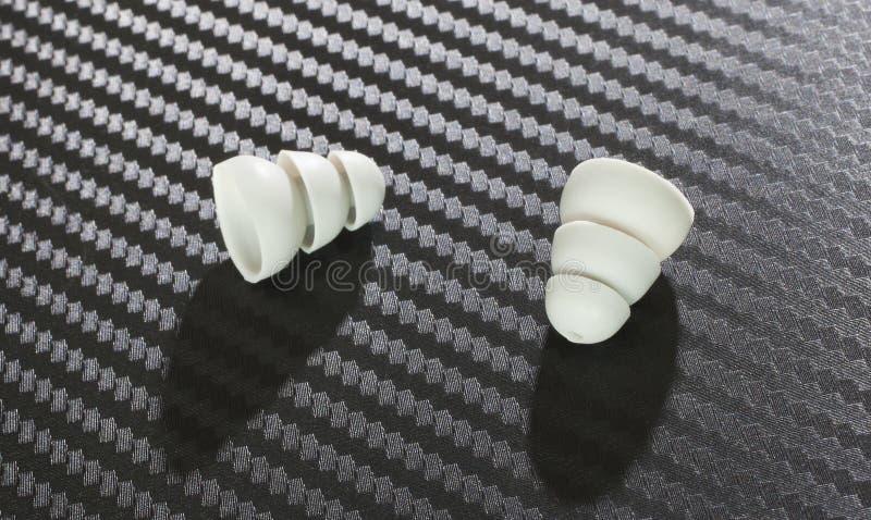 两个听筒 免版税库存照片