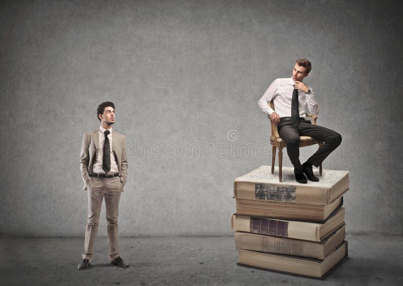 两个商人 免版税库存照片