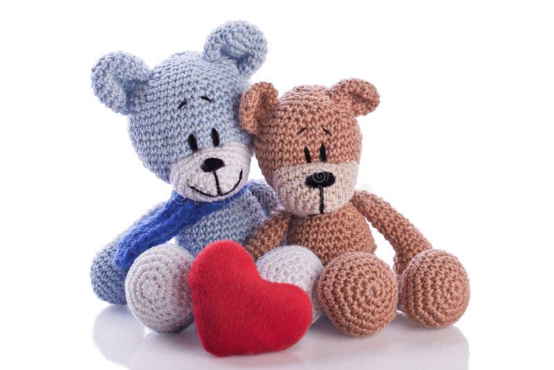 两个玩具熊 库存图片