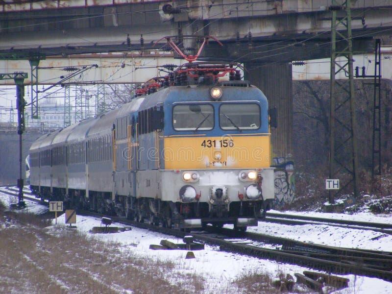 两个v43火车 免版税库存图片